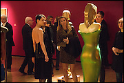 NEFER SUVIO, ANASTASIA WEBSTER, Allen Jones private view. Royal Academy,  London. 11 November  2014.