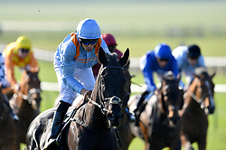 Star Of Southwold ridden by Sean Levey (second left) goes on to win The British EBF bet365 ÔConfinedÕ Novice Stakes during day three of The Bet365 Craven Meeting at Newmarket Racecourse.