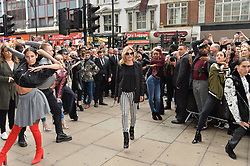 September 6, 2017 - London, London, UK - London, UK. Supermodel model KATE MOSS opens Reserved flagship clothing chain store in Oxford Street. Reserved is a Polish clothing store chain, which has more than 1,600 stores located in 18 countries. (Credit Image: © Ray Tang/London News Pictures via ZUMA Wire)