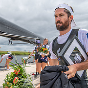 Caleb Shepherd.<br /> <br /> Compete in the A Finals at FISA World Rowing Cup III on Sunday 14 July 2019 at the Willem Alexander Baan,  Zevenhuizen, Rotterdam, Netherlands. © Copyright photo Steve McArthur / www.photosport.nz