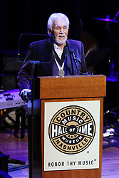 "Country music superstar Kenny Rogers passed away of natural causes at home in Georgia surrounded by family at the age of 81 years old. October 25, 2017 Nashville, TN Wanda Rogers, Kenny Rogers and Dolly Parton Kenny Rogers' ""All In For The Gambler'"" Farewell Celebration held at Bridgestone Arena ©Tammie Arroyo/AFF-USA.com. 21 Mar 2020 Pictured: Kenny Rogers. Photo credit: Tammie Arroyo / AFF-USA.COM / MEGA TheMegaAgency.com +1 888 505 6342"