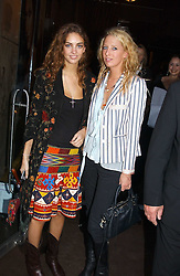 Left to right, ROSE HANBURY and the HON.SOPHIA HESKETH at the opening party for the new BECCA cosmetics store at 91a Pelham Street, London SW7 on 19th May 2005.<br /><br />NON EXCLUSIVE - WORLD RIGHTS