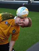 Australia fan showing off some skill with a rugby ball during the Rugby World Cup Pool A match between England and Australia at Twickenham, Richmond, United Kingdom on 3 October 2015. Photo by Matthew Redman.