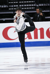 February 7, 2019 - Los Angeles, California, U.S - June Hyoung Lee of South Korea competes in the Men Short Program during the ISU Four Continents Figure Skating Championship at the Honda Center in Anaheim, California on February 7, 2019. (Credit Image: © Ringo Chiu/ZUMA Wire)