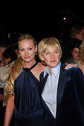 25 February 2007 - Los Angeles, CA -  Ellen DeGeneres Portia de Rossi at the Vanity Fair Oscar Party held at Morton's Restaurant. Photo Credit: Giulio Marcocchi/Sipa Press/0702261339
