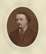 'John Stainer (1840-1901) c1878, English composer, organist and choir trainer whose mainly sacred music was popular in his lifetime. Organist at St Paul's Cathedral, London, Professor of Music at Oxford from 1889.'