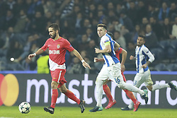 December 6, 2017 - Na - Porto, 06/12/2017 - Football Club of Porto received, this evening, AS Monaco FC in the match of the 6th Match of Group G, Champions League 2017/18, in Estádio do Dragão. João Moutinho; Herrera  (Credit Image: © Atlantico Press via ZUMA Wire)