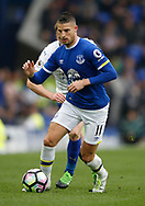 Kevin Mirallas of Everton during the English Premier League match at Goodison Park Stadium, Liverpool. Picture date: April 9th 2017. Pic credit should read: Simon Bellis/Sportimage