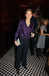 DAVINA BARBER she was Davina Duckworth-Chad at The Christmas Cracker - an evening i aid of the Starlight Children's Charity held at Frankies, Knightsbridge on 13th December 2006.<br />