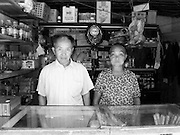 Couple and their roadside store, near Duyun, Guizhou Province, China