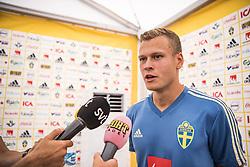 July 1, 2018 - Gelendszik, Russia - Viktor Claesson, Mixad zonen VM Ryssland 2018 i Gelendszik.  (Credit Image: © WixtrÖM Peter/Aftonbladet/IBL via ZUMA Wire)