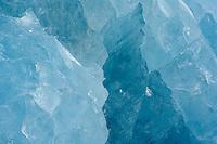 Smeerenburg glacier ice<br /> Smeerenburg fjord<br /> Svalbard<br /> Norway
