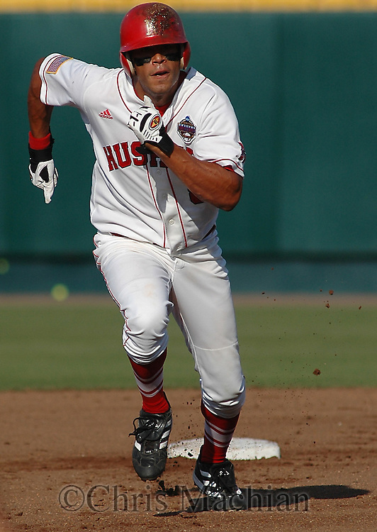 6/19/05 Omaha, NE Nebraska's Jesse Boyer at the College World Series at Rosenblatt Stadium..(Chris Machian/Prairie Pixel Group)
