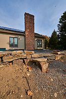 Home renovation -- new patio. Autumn backyard in New Jersey. Image taken with a Nikon D800 camera and 14-24 mm f/2.8 lens (ISO 100, 14 mm, f/16, 1/100 sec)