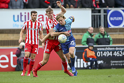 March 9, 2019 - High Wycombe, Buckinghamshire, United Kingdom - Wycombe's Alex Samuel on the attack during the Sky Bet League 1 match between Wycombe Wanderers and Sunderland at Adams Park, High Wycombe, England  on Saturday 9th March 2019. (Credit Image: © Mi News/NurPhoto via ZUMA Press)