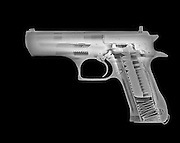 Handgun under x-ray