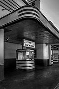 Newly renovated Raye Theatre, Hondo, Texas, USA.