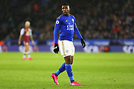 Leicester City forward Kelechi Iheanacho in action during the Premier League match between Leicester City and Aston Villa at the King Power Stadium, Leicester, England on 9 March 2020.