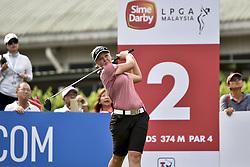 October 26, 2017 - Kuala Lumpur, Malaysia - Brooke M. Henderson of Canada during day one of the Sime Darby LPGA Malaysia at TPC Kuala Lumpur on October 26, 2017 in Kuala Lumpur, Malaysia. (Credit Image: © Chris Jung/NurPhoto via ZUMA Press)