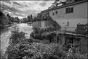 Maidenhead, Berkshire, United Kingdom, Monday, 04/10/2021, General View, Boathouse Restaurant, Ray Mill Island,  River Thames, Thames Valley, [Mandatory Credit; Pete Spurrier],