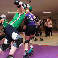 Rainy City Roller Derby All Stars take on Auld Reekie at The Thunderdome, King Street, Oldham, 2017-03-11