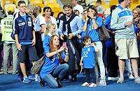 "fidanzata CHIELLINI, e moglie DIAMANTI (Italia)<br /> Kiev 24/06/2012  ""Stadio Olimpico""<br /> Football calcio Europeo 2012 Inghilterra Vs Italia<br /> Football Calcio Euro 2012<br /> Foto Insidefoto Alessandro Sabattini"