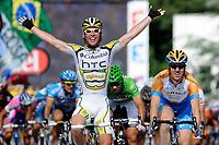 Sykkel<br /> Tour de France<br /> Foto: DPPI/Digitalsport<br /> NORWAY ONLY<br /> <br /> CYCLING - TOUR DE FRANCE 2009 - SAINT FARGEAU (FRA) - 15/07/2009<br /> <br /> STAGE 11 - VATAN > SAINT FARGEAU - MARK CAVENDISH (GBR) / TEAM COLUMBIA / WINNER - TYLER FARRAR (USA) / GARMIN-SLIPSTREAM / 2ND