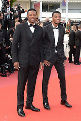 'Once Upon a Time... in Hollywood' red carpet - 72nd annual Cannes Film Festival in Cannes, France, on May 21, 2019. 21 May 2019 Pictured: Chris Tucker and his son Destin Christopher Tucker attend the screening of 'Once Upon a Time... in Hollywood' during the 72nd annual Cannes Film Festival in Cannes, France, on May 21, 2019. Photo credit: Favier/ELIOTPRESS / MEGA TheMegaAgency.com +1 888 505 6342