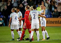 Toni Duggan of England scores her sides sixth goal - Mandatory by-line: Matt McNulty/JMP - 19/09/2017 - FOOTBALL - Prenton Park - Birkenhead, United Kingdom - England v Russia - FIFA Women's World Cup Qualifier