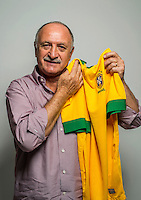"Football Fifa World Cup Brazil 2014 / <br /> Brazil National Team - <br /> Luis Felipe Scolari "" FELIPAO "" - Coach of Brazil -<br /> Private Session"