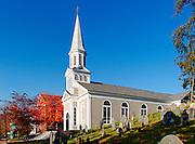 Saint Bernard Catholic Church and Old Hill Burying Ground , Concord MA, Massachusetts
