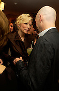 Cate Blanchett and Ralph Fienness. Artists Independent Networks  Pre-BAFTA Party at Annabel's co hosted by Charles Finch and Chanel. Berkeley Sq. London. 11 February 2005. . ONE TIME USE ONLY - DO NOT ARCHIVE  © Copyright Photograph by Dafydd Jones 66 Stockwell Park Rd. London SW9 0DA Tel 020 7733 0108 www.dafjones.com