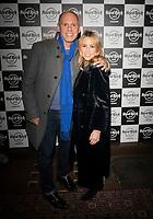 judge robert rinder ,Rachel Stevens at the Hard Rock Cafe celebrity-studded Christmas party for children's charity Fight For Life LONDON, 2 December 2019