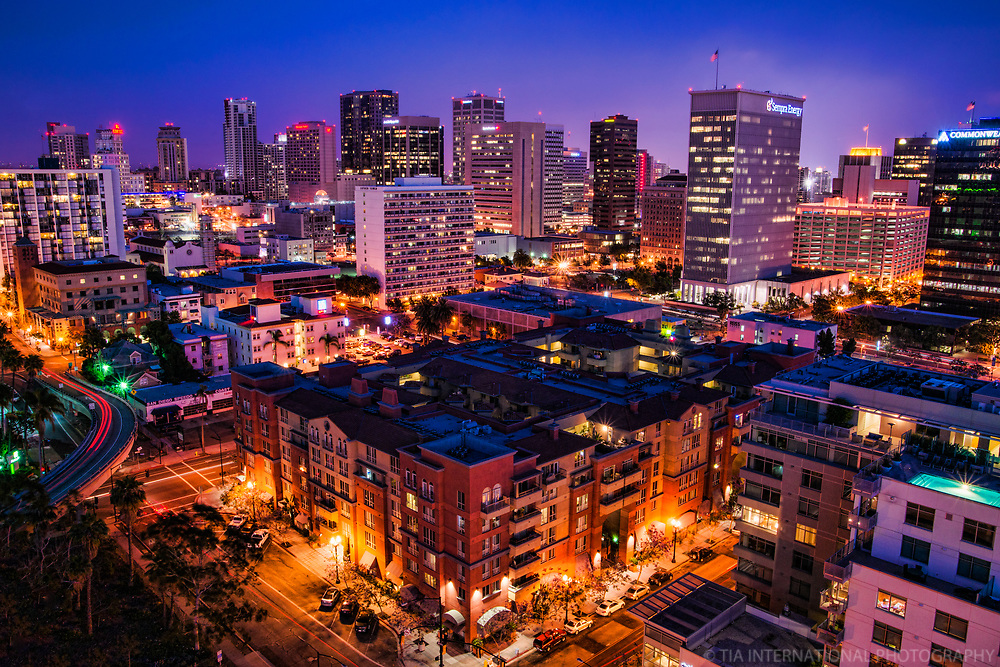 SD Central Business District (Blue Hour)
