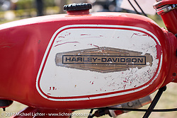 An old Aermachi Harley-Davidson at the AMCA (Antique Motorcycle Club of America) Sunshine Chapter National Meet in New Smyrna Beach during Daytona Beach Bike Week. FL. USA. Saturday March 11, 2017. Photography ©2017 Michael Lichter.