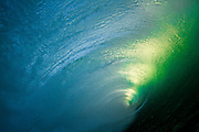 Inside the Barrel of a Wave at the Wedge in Newport Beach