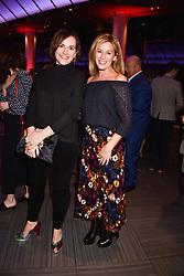 Andrea Catherwood and Sian Smyth at the Costa Book Awards 2017 held at  Quaglino's, 16 Bury Street, London England. 30 January 2018.