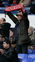 Photo: Dave Howarth.<br /> Everton v Charlton Athletic. The Barclays Premiership.<br /> 02/01/2005. Charlton supporter