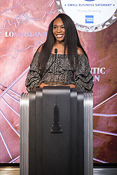 Venus Williams visits the Empire State Building in support of Small Business Saturday. 21 Nov 2018 Pictured: Venus Williams. Photo credit: Joe Russo / MEGA TheMegaAgency.com +1 888 505 6342