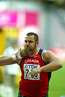 Friidrett, 23. august 2003, VM Paris,( World Championschip in Athletics),  Bradley Snyder, Canada