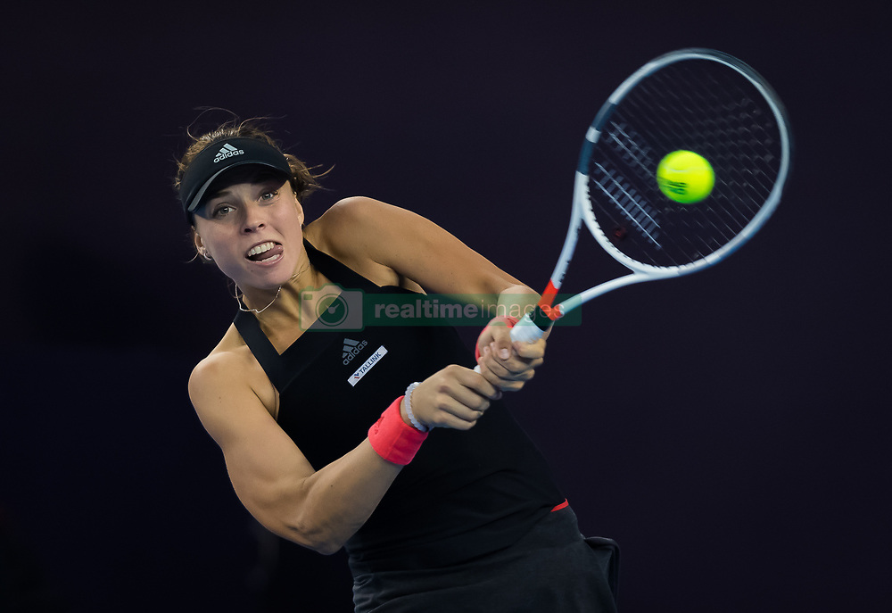 October 4, 2018 - Beijing, China - Anett Kontaveit of Estonia in action during her third-round match at the 2018 China Open WTA Premier Mandatory tennis tournament (Credit Image: © AFP7 via ZUMA Wire)