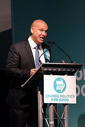 Brexit Party Rally, Edinburgh, Friday 17th May 2019<br /> <br /> The Brexit Party held a rally in the Corn Exchange, Edinburgh today with leader Nigel Farage giving a speech.<br /> <br /> A protest was held outside by the Stand Up To Racism group.<br /> <br /> Pictured: Brexit Party EU candidate Paul Aitken<br /> <br /> Alex Todd | Edinburgh Elite media