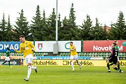 Loren Maruzin of Bravo and other players celebrate after scoring second goal during football match between NK Bravo and NK Olimpija in 36th Round of Prva liga Telekom Slovenije 2020/21, on May 22, 2021 in Sportni park ZAK, Ljubljana, Slovenia. Photo by Vid Ponikvar / Sportida