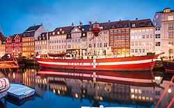 Reflections at Nyhavn, Copenhagen, Denmark. 27/05/14. Photo by Andrew Tallon