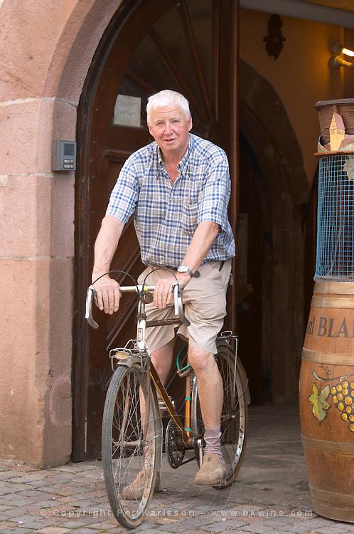 Bernard Blanck cyclist domaine p blanck kientzheim alsace france