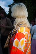 JULIE VERHOEVEN,, The Serpentine Summer Party 2013 hosted by Julia Peyton-Jones and L'Wren Scott.  Pavion designed by Japanese architect Sou Fujimoto. Serpentine Gallery. 26 June 2013. ,