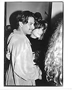 Donny Padillo & Sandra Bullock At Kelly Klein book <br />party© Copyright Photograph by Dafydd Jones 66 Stockwell Park Rd. London SW9 0DA Tel 020 7733 0108 www.dafjones.com