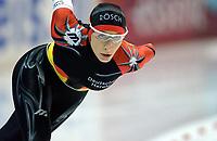 Skøyter: Verdenscup Heerenveen. Annie Friesinger, Tyskland.<br /><br />Foto: Ronald Hoogendoorn, Digitalsport