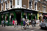 The newly refurbished Shannon's Market Bar on Portobello Road. Once the famous Market Bar.