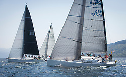 Sailing - SCOTLAND  - 25th-28th May 2018<br /> <br /> The Scottish Series 2018, organised by the  Clyde Cruising Club, <br /> <br /> First days racing on Loch Fyne.<br /> <br /> GBR4757R, Moonstruck Too, Gordon Lawson, Port Edgar, J122<br /> <br /> Credit : Marc Turner<br /> <br /> <br /> Event is supported by Helly Hansen, Luddon, Silvers Marine, Tunnocks, Hempel and Argyll & Bute Council along with Bowmore, The Botanist and The Botanist